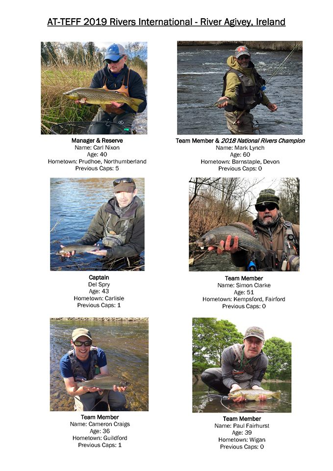 2019 Rivers Home International, R Agivey, Ireland | Angling